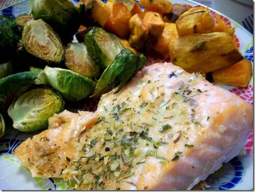 salmon dinner 008